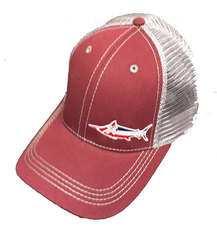 Mississippi Marlin Trucker Hat - Blazin' Buddy
