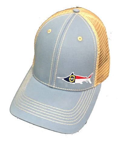 North Carolina Marlin Trucker Hat