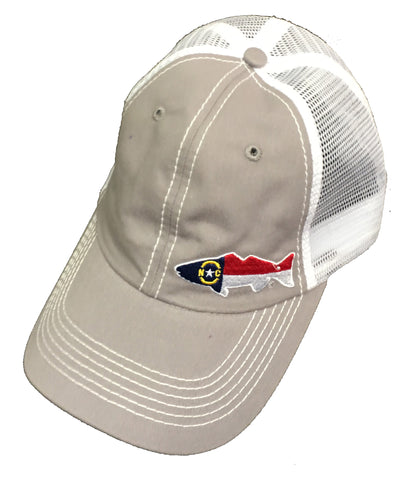 North Carolina Red Drum Soft Front Hat - Blazin' Buddy