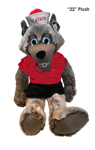 "North Carolina State Wolfpack  22"" Plush ""Mr. Wolf"" Stuffed Mascot - Blazin' Buddy"