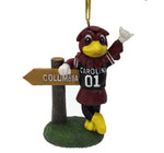 South Carolina Gamecock Mascot Sign