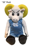 "North Carolina Tar Heels 22"" Plush ""Ramses"" Stuffed Mascot"