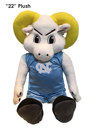 "North Carolina Tar Heels 22"" Plush ""Ramses"" Stuffed Mascot - Blazin' Buddy"