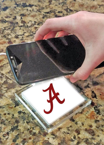 Alabama Crimson Tide Wireless Charging Pad - Blazin' Buddy