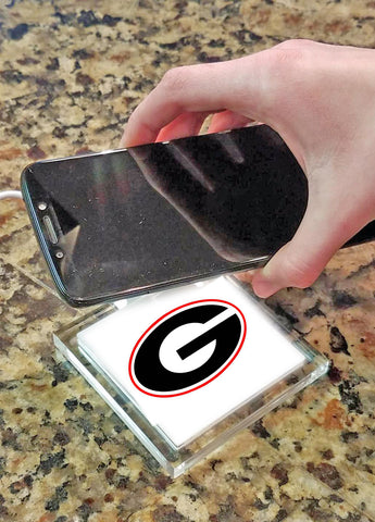 Georgia Bulldog Wireless Charging Pad - Blazin' Buddy