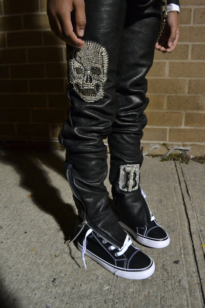 Ronnie Leather Rider Pant's