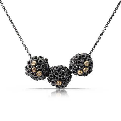 Urban Beehive Necklace