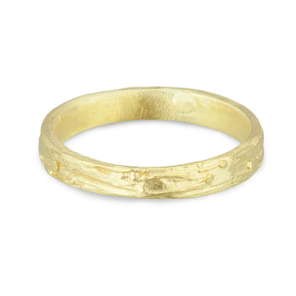 Scrawl Series -Gold Eternity Band