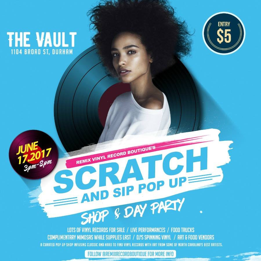 Scratch & Sip Popup Shop!