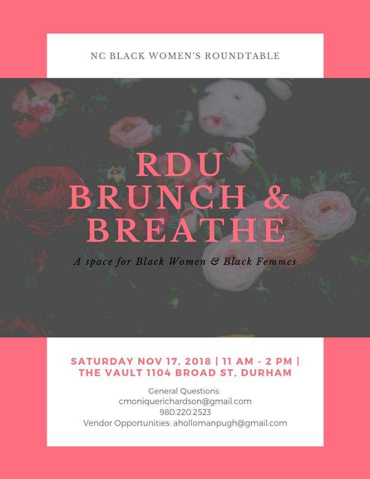 The First RDU Brunch & Breathe