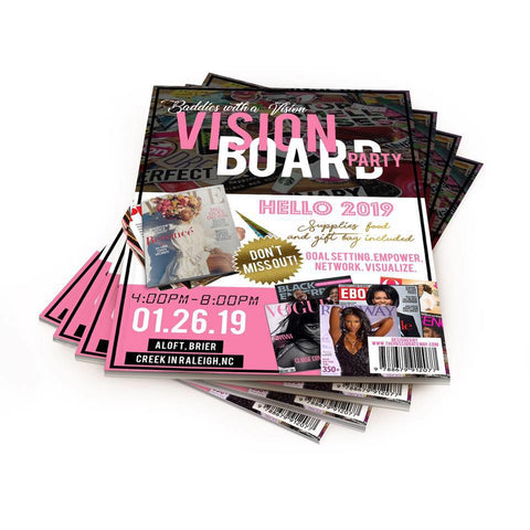 Baddies With A Vision Board Party