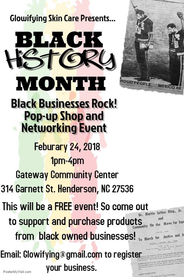 Black Business Rock Popup Shop & Networking Event!