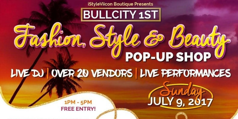 BullCity's 1st Fashion, Style & Beauty Pop-Up Shop!