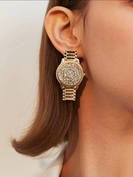 Rolex Earrings