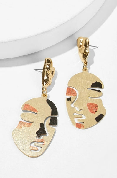 Let's Face It Earrings
