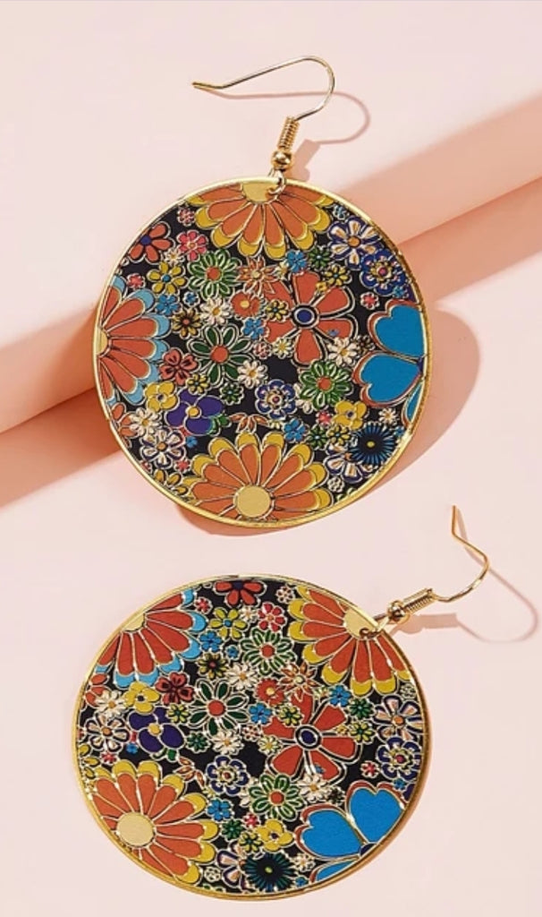 Psychedelic Earrings