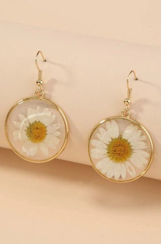 Water Daisy Earrings
