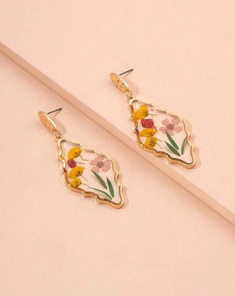 Flower Pond Earrings