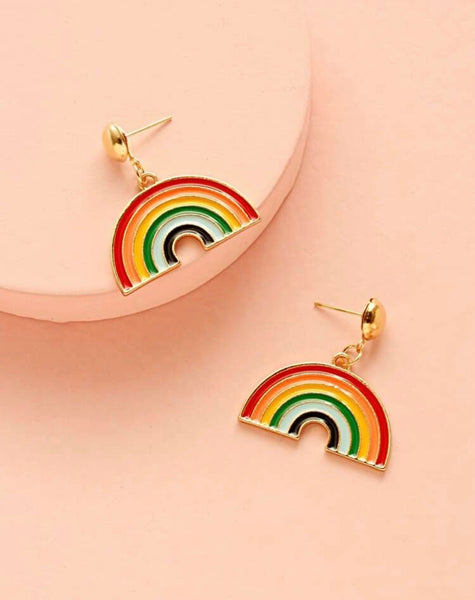 Reading Rainbow Earrings