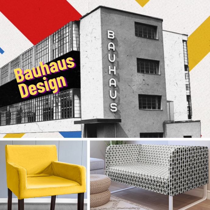 Bauhaus Design and Decor; Spontaneous Minimalism by Rockin Cushions