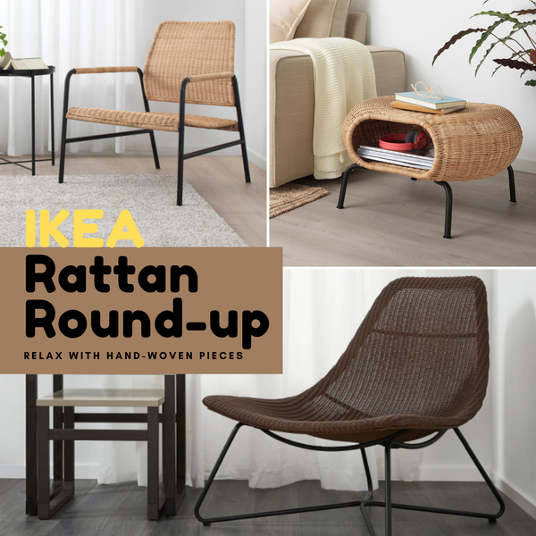 Woven IKEA Furniture: Relax with Rattan