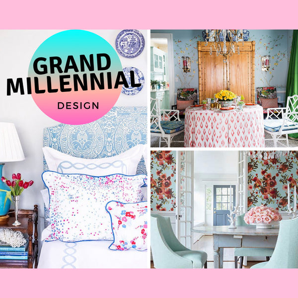 GrandMillennial Design and Decorating Tips