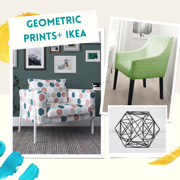 Geometric Patterns on a Budget from IKEA
