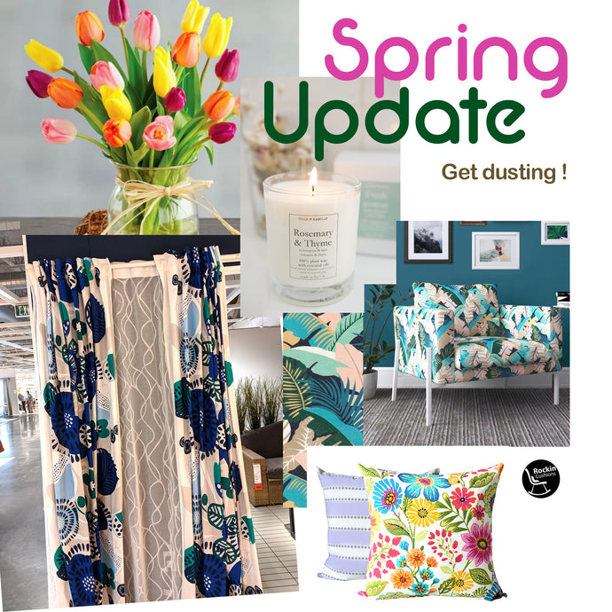 Easy and beautiful ways to update your home for Spring