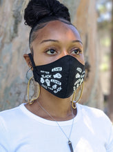 Load image into Gallery viewer, Pack of BLACK LIVES MATTER Face Masks, Unisex, Washable, Reusable, Double Layer for Smog, Pollen, Dust, Smoke