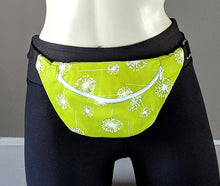 Load image into Gallery viewer, Green Dandelion Fanny Pack