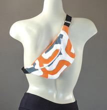 Load image into Gallery viewer, Retro Orange Fanny Pack