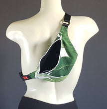 Load image into Gallery viewer, Tropical Jungle Green Fanny Pack