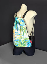 Load image into Gallery viewer, Hawaii Turquoise Drawstring Bag