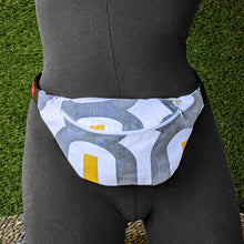 Load image into Gallery viewer, Retro Gray Fanny Pack