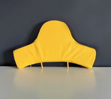 Load image into Gallery viewer, Baby Highchair Cushion Cover for IKEA Klammig, Pyttig, Yellow Honeycomb Print