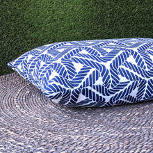 Load image into Gallery viewer, Navy Blue Rope Print, Outdoor IKEA Covers