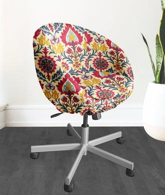 IKEA SKRUVSTA Chair Slip Cover, Santa Maria Gem