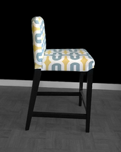 Load image into Gallery viewer, Chunky Yellow Pattern IKEA HENRIKSDAL Bar Stool Chair Covers