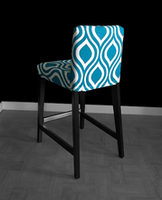 Load image into Gallery viewer, Blue Teardrop IKEA HENRIKSDAL Seat Cover