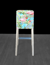 Load image into Gallery viewer, Pink Flamingo HENRIKSDAL Stool Cover, Tropical Henriksdal Slipcover, UK/Euro/ Australia Size
