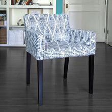 Load image into Gallery viewer, IKEA NILS Boho Indigo Blue Chair Cover