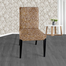 Load image into Gallery viewer, Leopard Print IKEA Henriksdal Dining Chair Cover