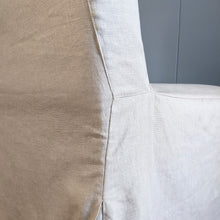Load image into Gallery viewer, IKEA HENRIKSDAL Slip Cover, Oatmeal Linen