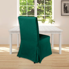 Load image into Gallery viewer, IKEA Henriksdal Dining Chair Cover, Hunter Green Velvet