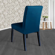 Load image into Gallery viewer, IKEA Henriksdal Dining Chair Cover, Navy Velvet