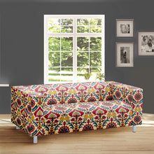 Load image into Gallery viewer, IKEA KLIPPAN Loveseat Slip Cover, Santa Maria Gem