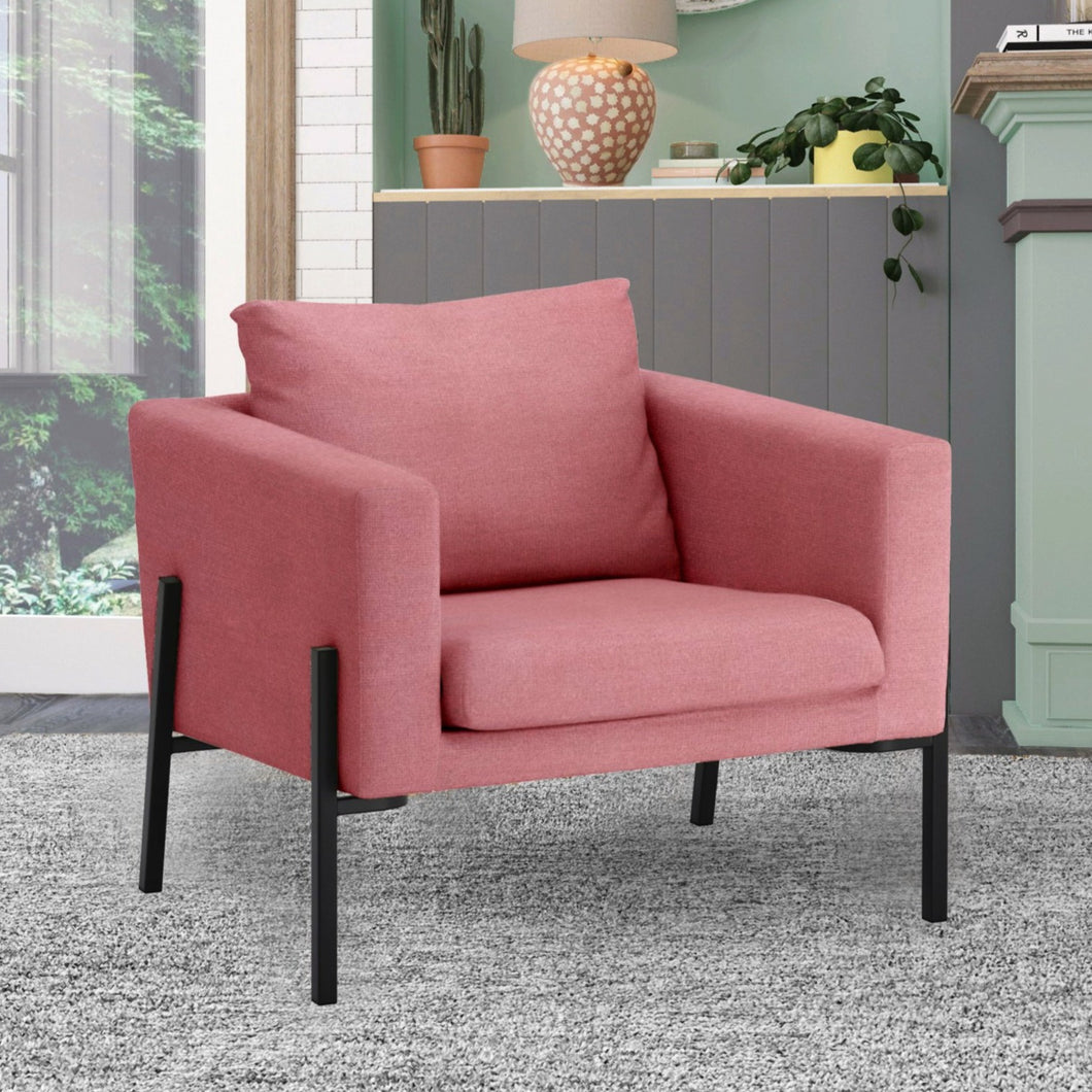 Blush Pink Velvet IKEA KOARP Armchair Cover