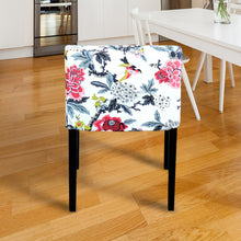 Load image into Gallery viewer, IKEA NILS White Floral Chair Cover