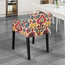 Load image into Gallery viewer, IKEA NILS Jewel Tones Floral Gem Chair Cover