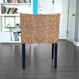 Brown Leopard Print, IKEA NILS Chair Cover